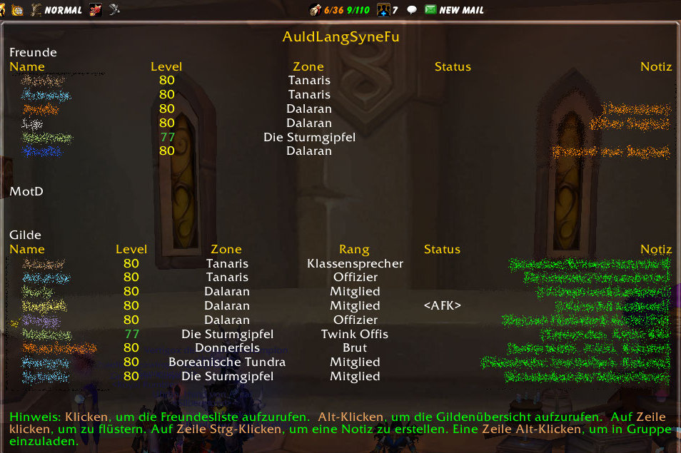 AuldLangSyne Screenshot