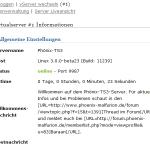 TS3-Admin-Interface