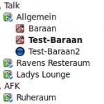 Beispiel für die Gruppen-Icons
